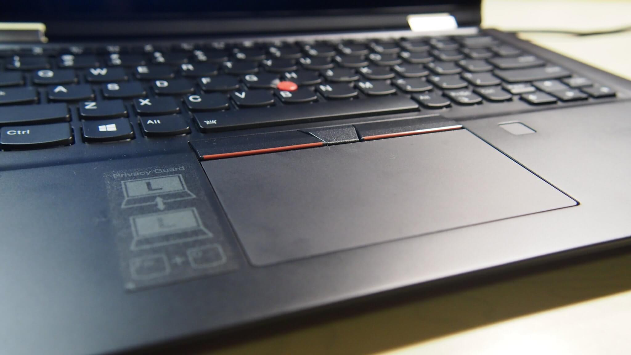 ThinkPad X13 Yoga Track Pad