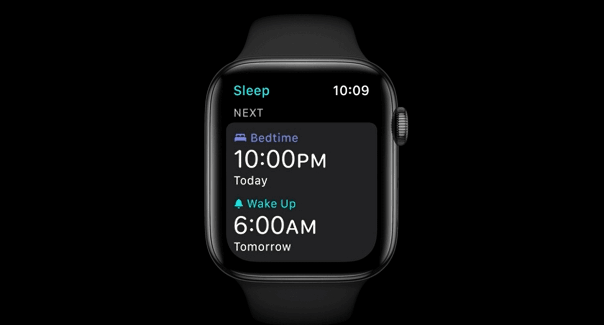 sleep tracking for apple watch presented at wwdc20