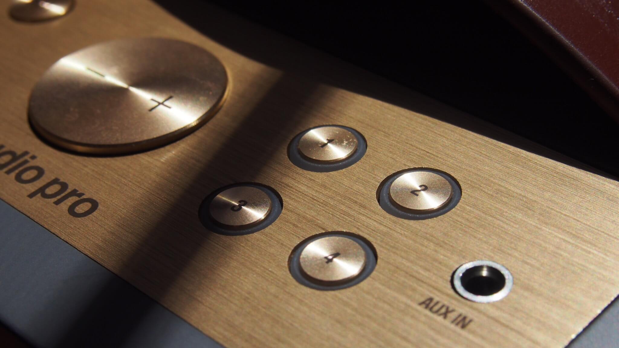 כפתורי קיצור דרך ברמקולים אלחוטיים מסוג אודיו פרו C5A