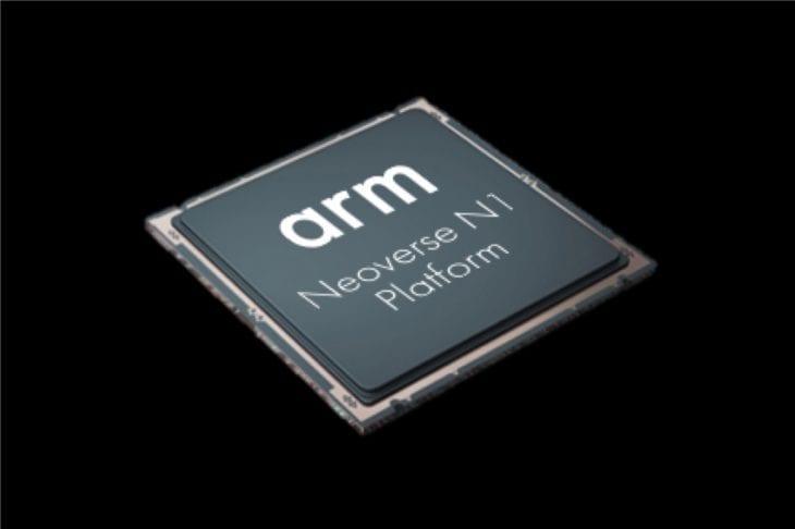 מעבד ARM Neoverse המשמש בשרתי הענן של AWS את ARM לעיצוב מעבדים