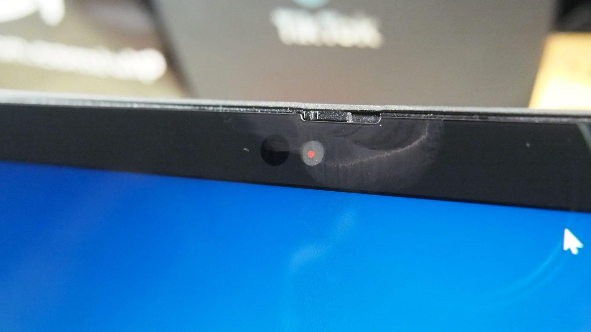 המצלמה הקדמית של ThinkPad X12 Detachable