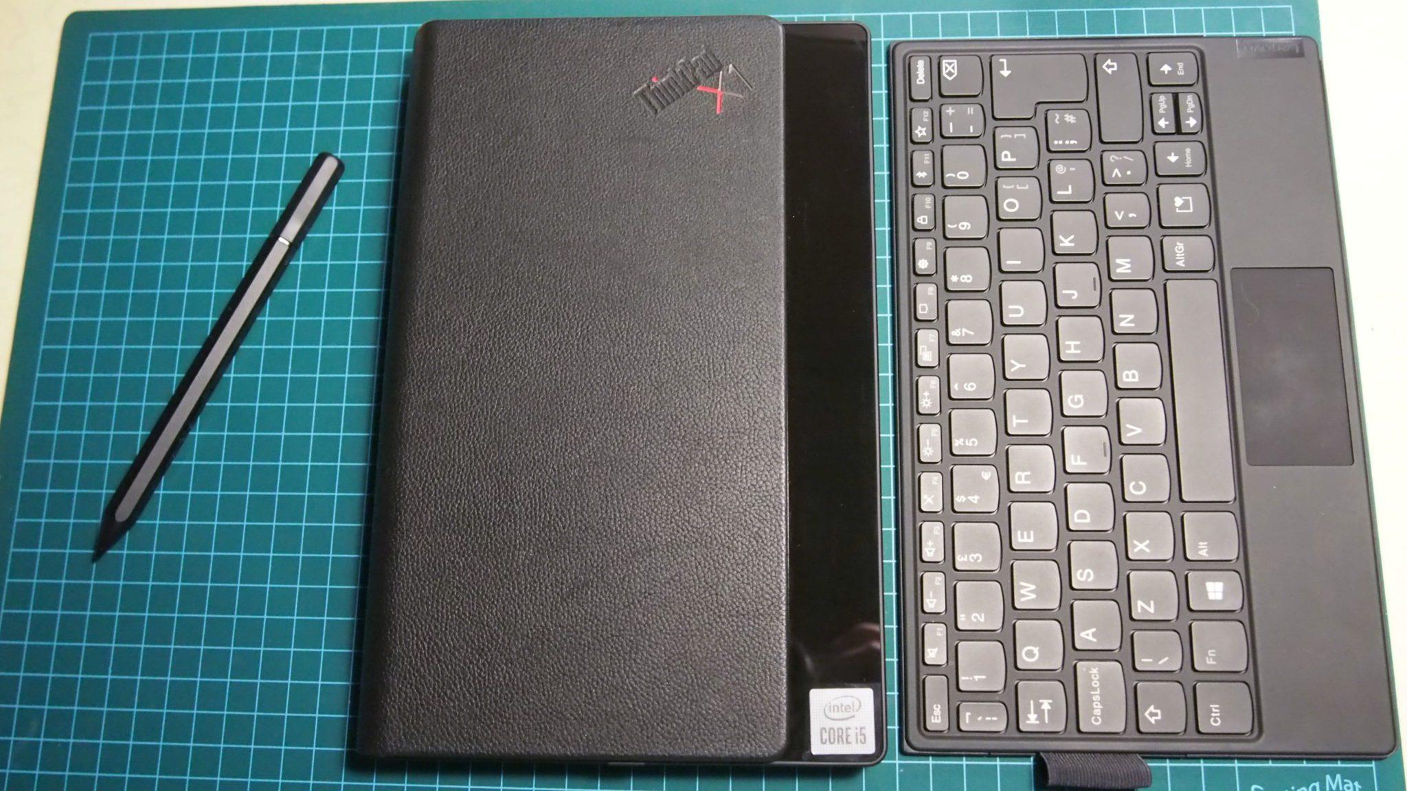 המקלדת, עט החרט החכם וה-ThinkPad X1 Fold
