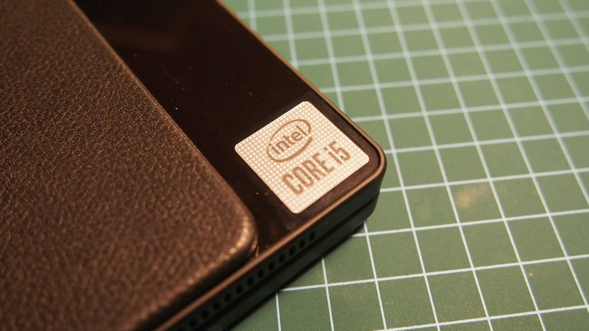 המעבד של ה-ThinkPad X1 Fold