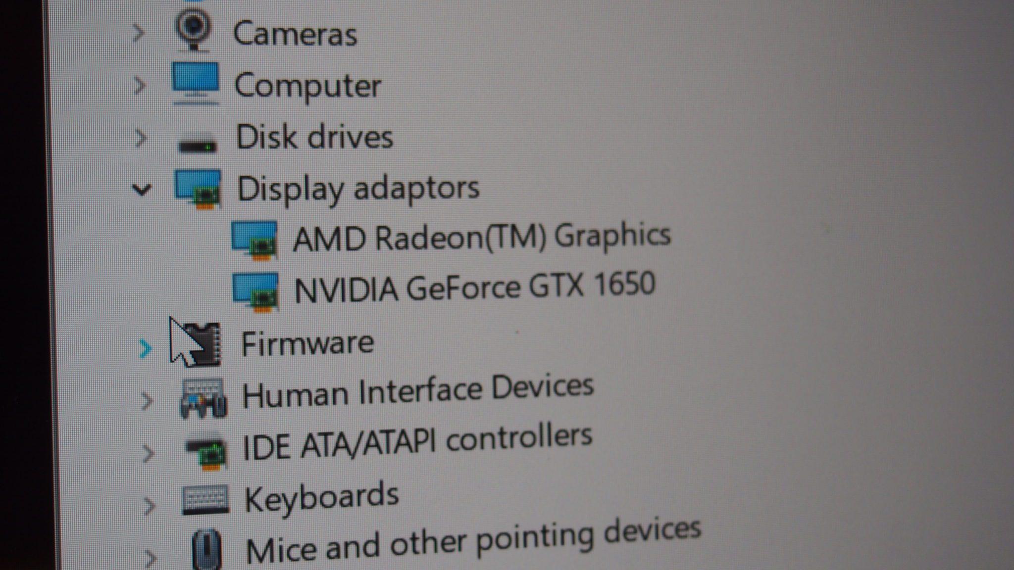 שילוב כרטיסי המסך ב-Acer SwiftX