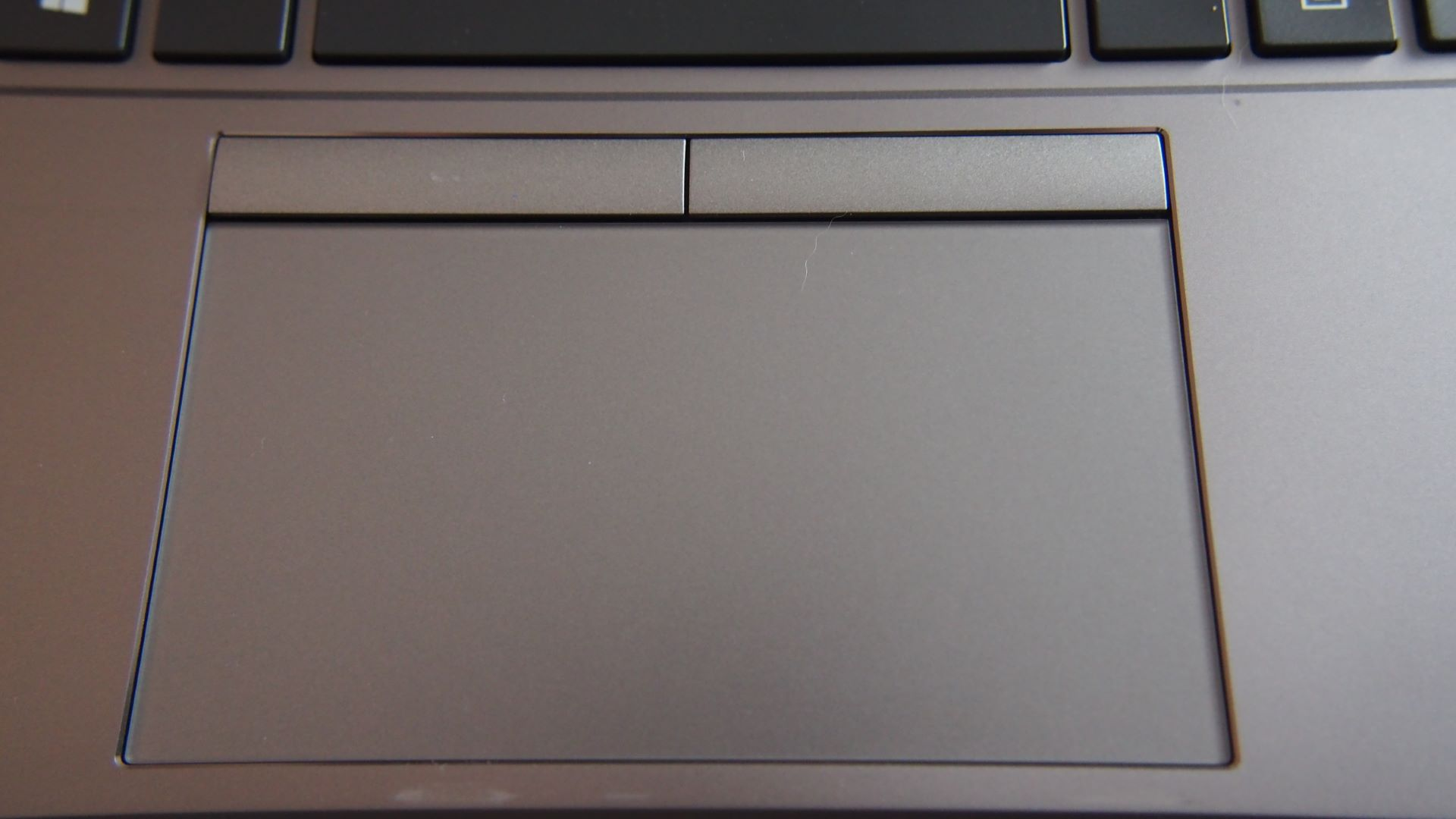 Tracking pad on HP Zbook Firefly 14